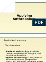4 Applied Anthropology