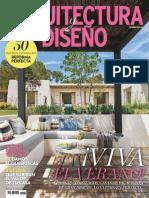 Arquitectura y Diseño - Julio 2016