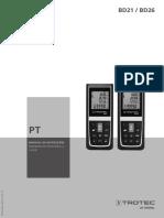 Manual Trotec BD21