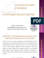 Specific Contemporary Issue
