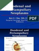CCDuodenumPeriampullaryNeoplasmsChu
