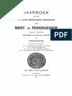 Over munt-gewichten en -balansen / door G.A. van Borssum Buisman