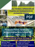 2 Charla Tec PTRF - Aspectos F-Q-M de La Calidad Del Agua NAR