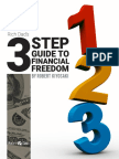 3 Step Guide to Financial Freedom