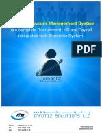Humantiz Brochure
