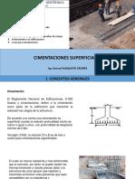 Cimentaciones Superficiales Tacna