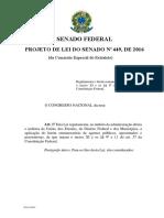 PL 449 LIMITA FÉRIAS E LE - PMDF