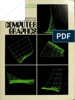 Mathematical Elements for Computer Graphics by David F. Rogers, J.Alan Adams