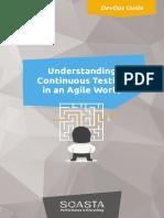eBook Understanding CT in Agile World