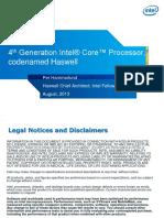 HC25.27.820 Haswell Hammarlund Intel