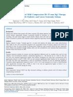 Mild Compression Reducing Oedem