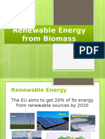 Renewable Energy From Biomass