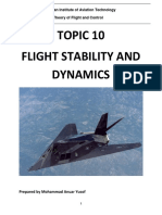 Reference Note - Topic 10 Flight Stability Dynamics r1