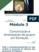 Formação - módulo 3