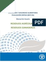 Agricultural Residues Manual Es