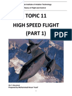 Reference Note - Topic 11 High Speed Flight (Part 1)