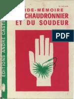 Aide Mmoire Du Chaudronnier Et