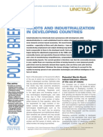 Robots and Industrialization in Developing Countries