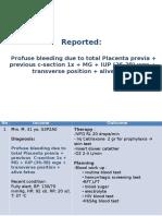 PANIK Ny.M Placenta Previa