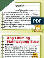 Mga Anyo ng Kontemporaryong Panitikan.pptx
