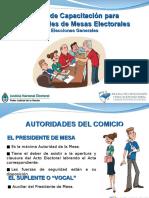 Curso Capacitacion Autoridades 2013