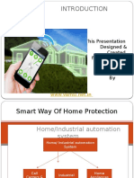 Smart Way of Home Protection