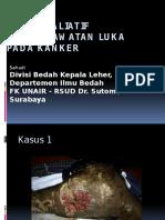 Dr.sahudi Bedah Paliatif Dan Perawatan Luka Pada Kanker