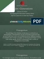 Toldot Generations