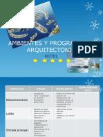 Ambientes y Programacion Arquitectonica