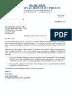 FDLE - Commissioner Letter 12-14-16