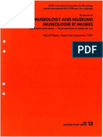 ISS 13 (1987) - Museology and Museums