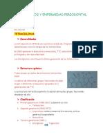 Antibioticos y Enfermedad Periodontal