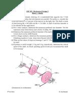 Sheet1 Shaft Design