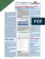 Poster Cientifico de Construcción de Pruebas Utilizando Programas en El Computador.
