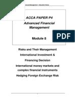 P4 Module 8 FX Risk