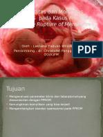 Morbiditas Dan Mortalitas Neonatus Pada Kasus Pre Term Ppt