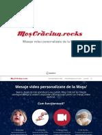 Moscraciun.rocks - Mesaje video personalizate de la Moș Crăciun