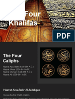 The Four Khalifas - Rai Aun Iqbal