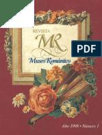 Revista Museo Romantico n. 1 1998