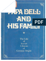 Papa Dell and His Family. the Life Os Soviet Citizens of Geman Origin