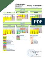 Kalender Akademik 2016-2017 Gasal