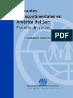 Cuadernos Migratorios 5 - Migrantes Extracontinentales en America Del Sur Final