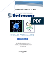 Modulo III Logica de Programacion