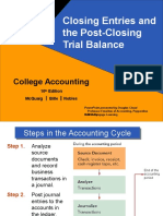 Chapter 5. Closing Entries and the Post-Closing Trial Balance