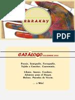 Catálogo RURAKUY, diciembre 2016