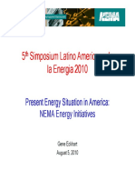 Present Energy Situation in America: