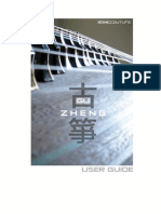 Guzheng User Guide (Kontakt EXS)