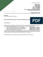 100621 Mannschaftsmeldung gem. §6.8 der Ausschreibung des BBV-Bezirk Schwaben