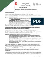 HIT RE 500 Underwater Applications