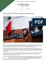 12-12-16 Proponen que correo electrónico sea válido para emitir notificaciones _ La Opción de Chihuahua